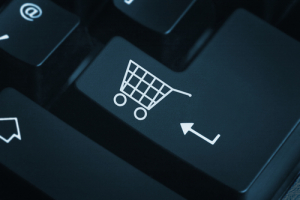 E-Commerce Shopping Cart Button