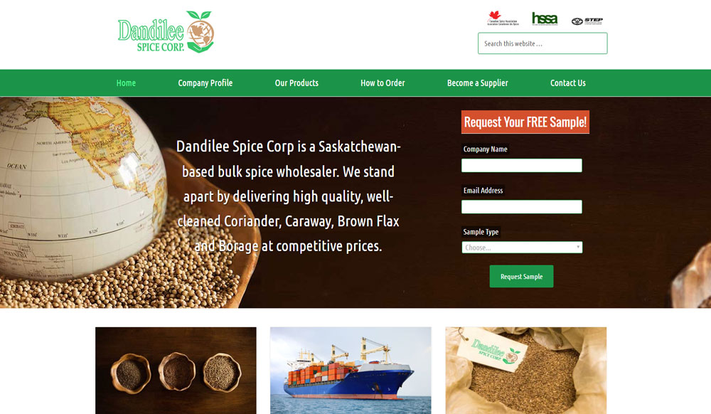 Dandilee Spice and Seed Wholesalers