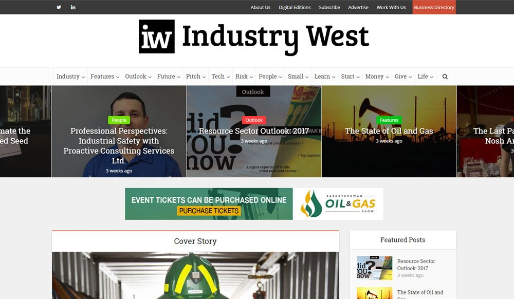 Industry West Magazine