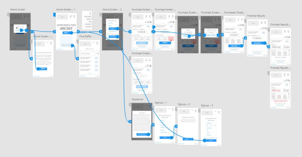 user flow prototyping